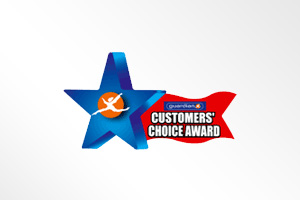 Malaysia: Guardian Customers' Choice Award (Toothpaste Category)